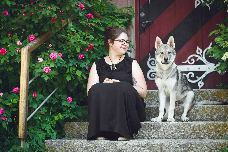 Hundefotografie mit Suko dem Tschechoslowakischen Wolfshund IMG 8194w