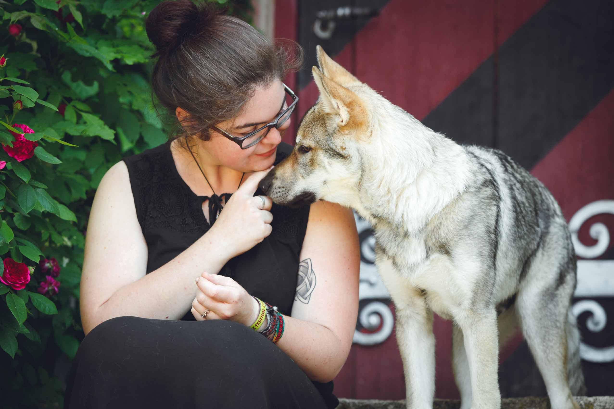 Hundefotografie mit Suko dem Tschechoslowakischen Wolfshund IMG 8204w