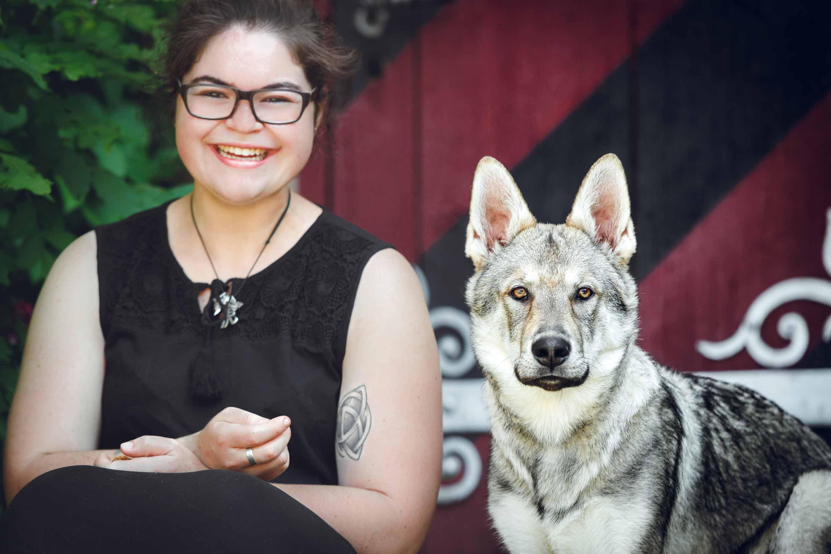 Hundefotografie mit Suko dem Tschechoslowakischen Wolfshund IMG 8209w