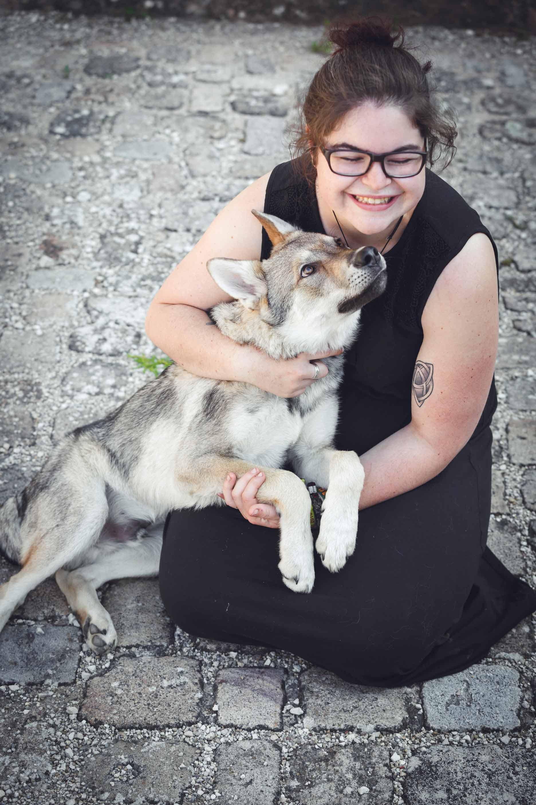 Hundefotografie mit Suko dem Tschechoslowakischen Wolfshund IMG 8264w