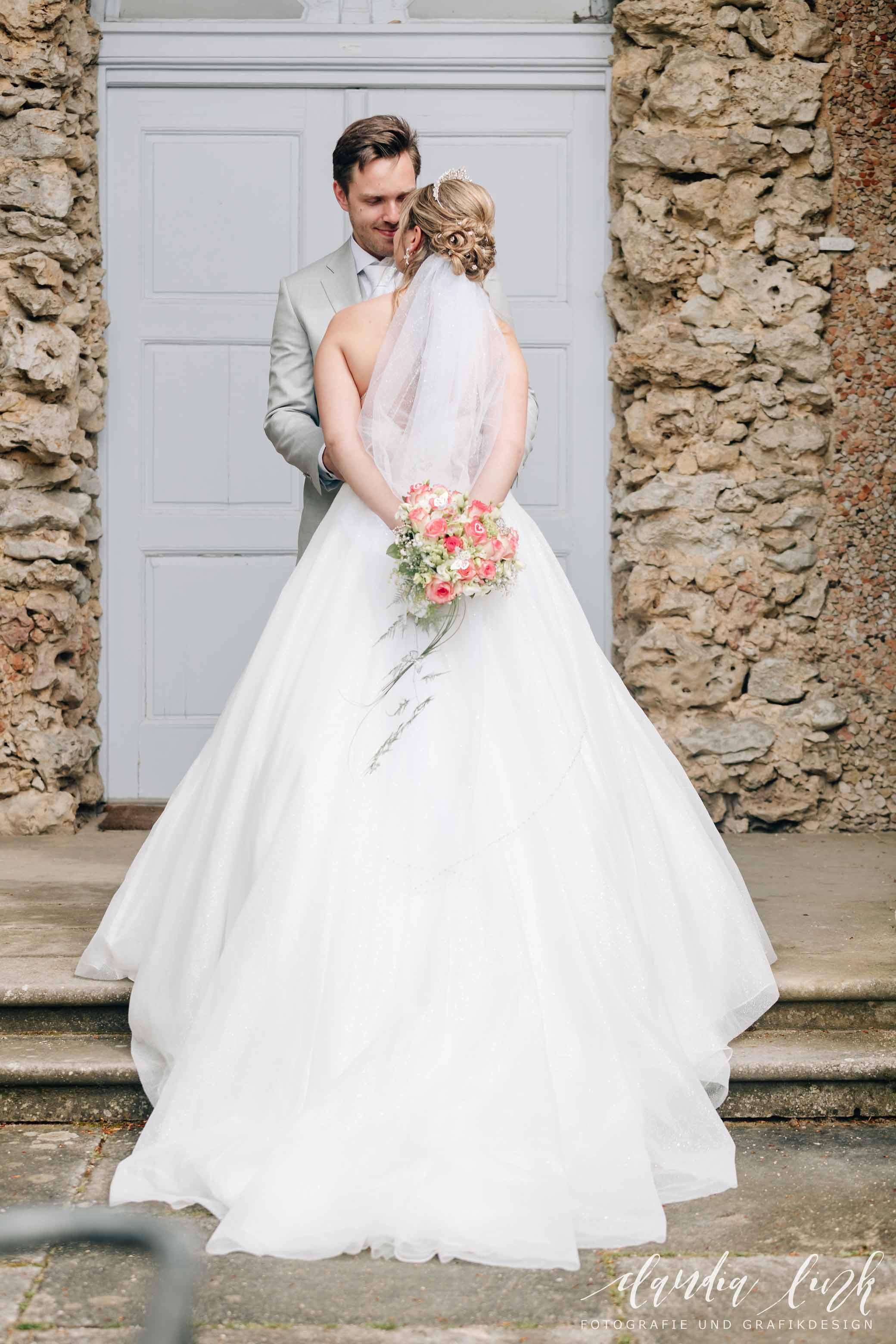 Kirchliche Hochzeit in Corona-Zeiten im fränkischen Burgkunstadt IMG 0299w