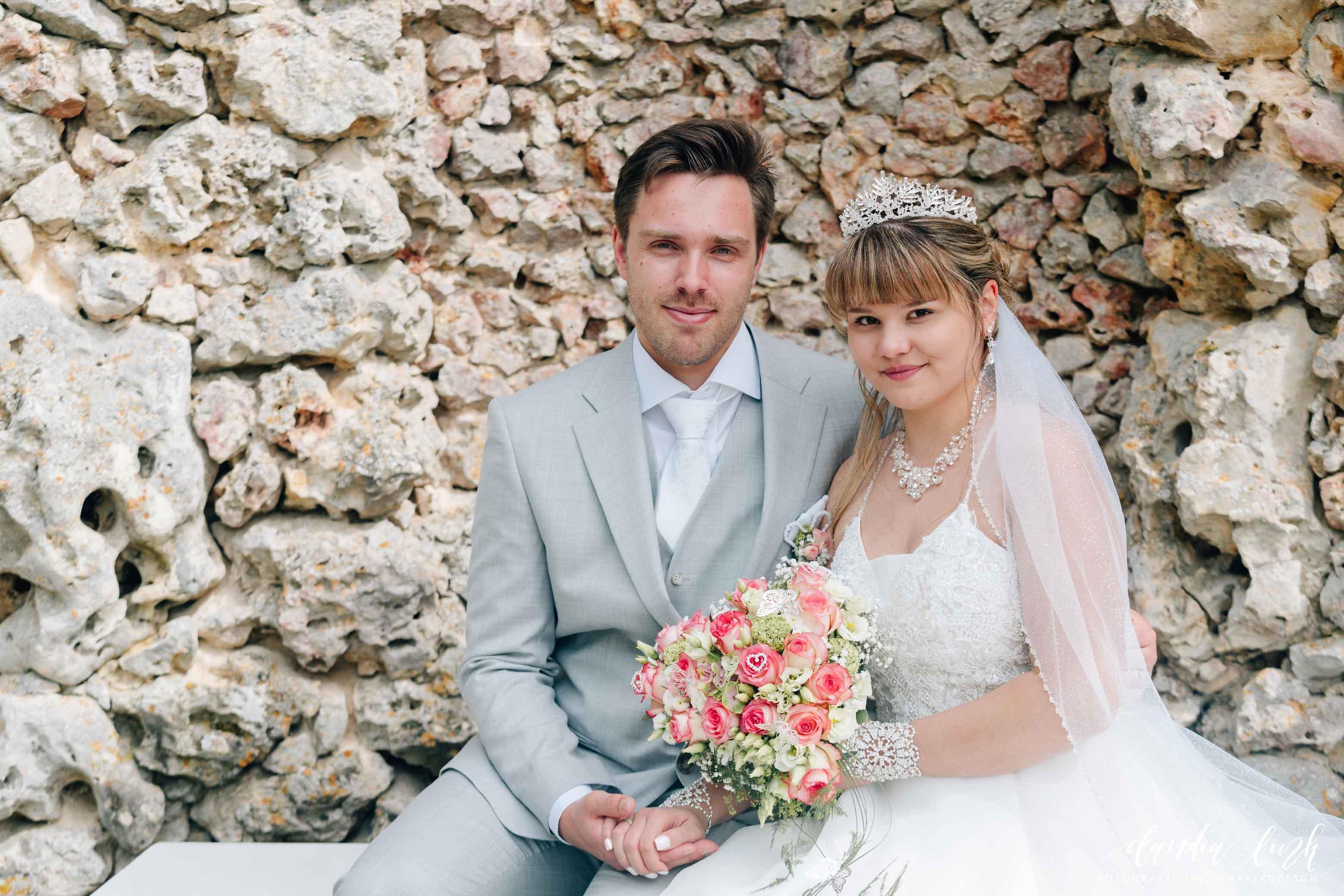 Kirchliche Hochzeit in Corona-Zeiten im fränkischen Burgkunstadt IMG 0374w