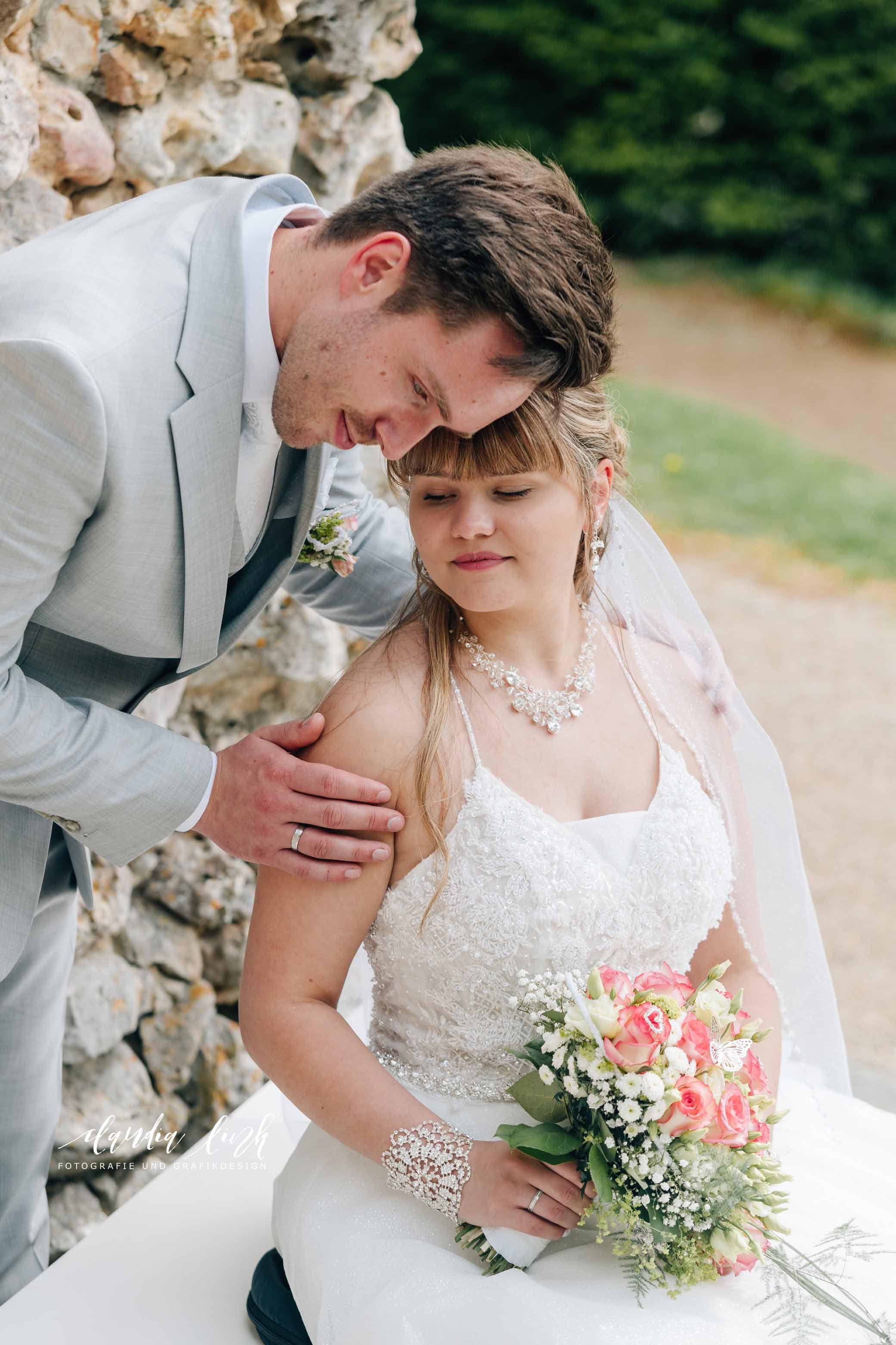 Kirchliche Hochzeit in Corona-Zeiten im fränkischen Burgkunstadt IMG 0423w
