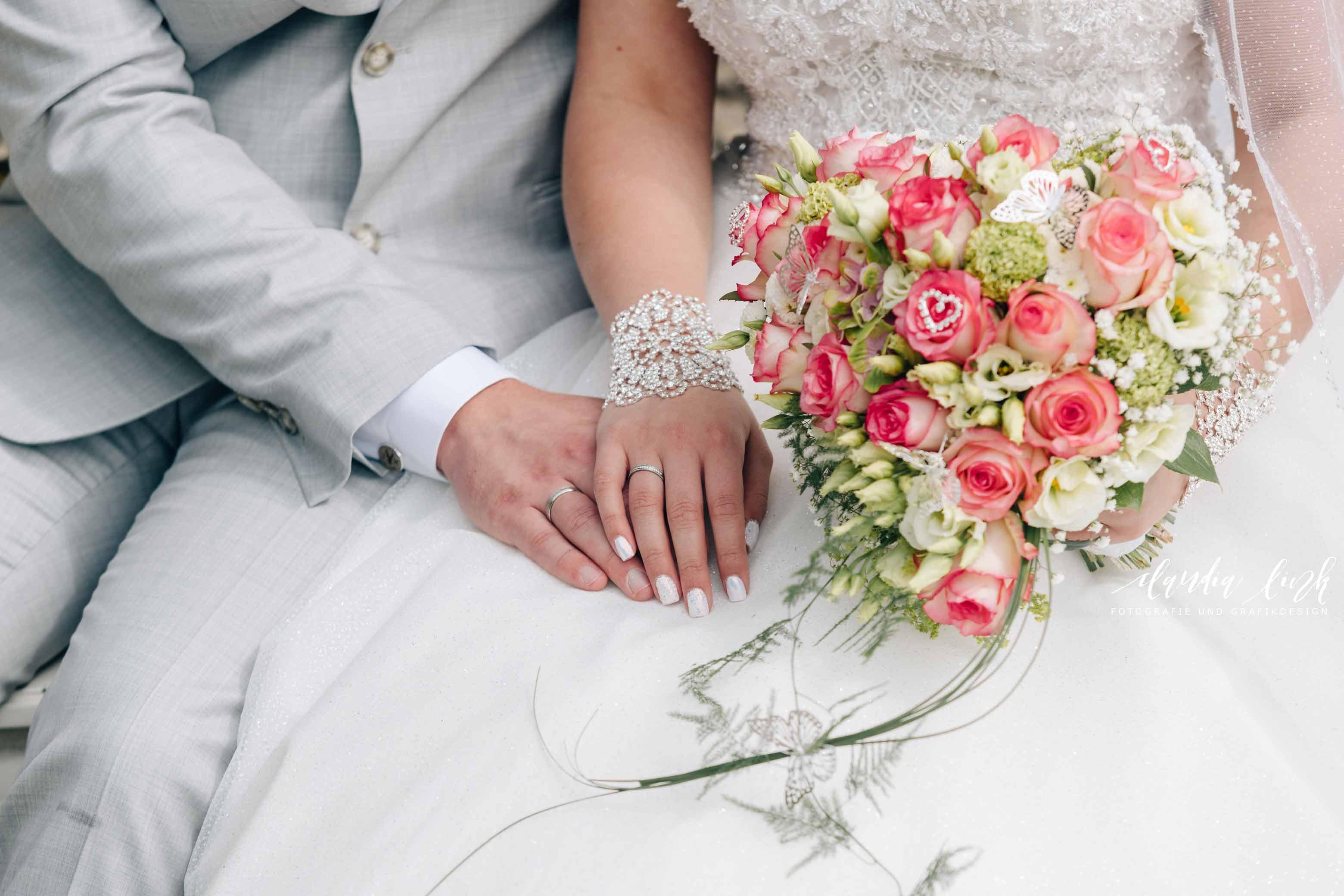 Kirchliche Hochzeit in Corona-Zeiten im fränkischen Burgkunstadt IMG 0450w