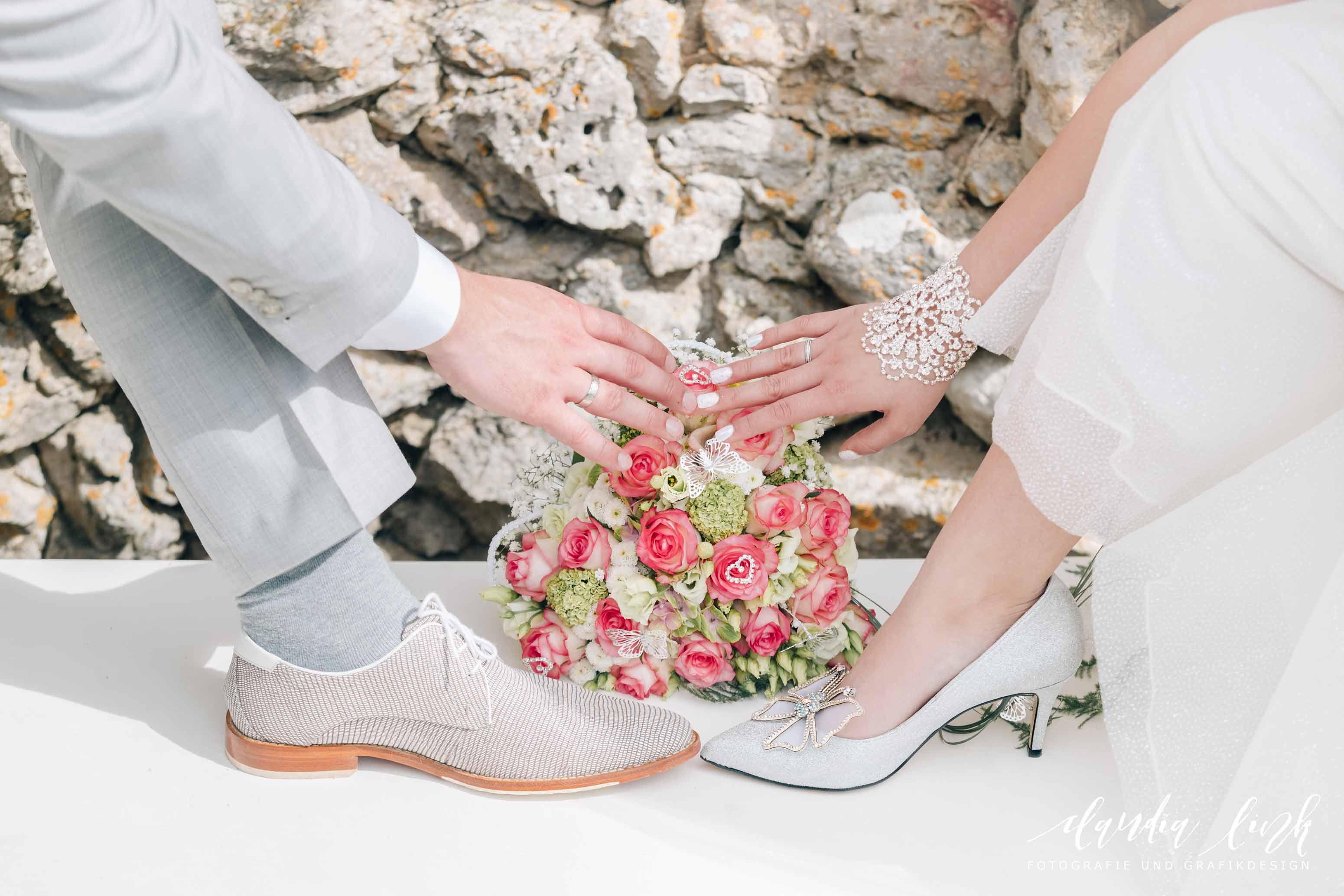 Kirchliche Hochzeit in Corona-Zeiten im fränkischen Burgkunstadt IMG 0514w