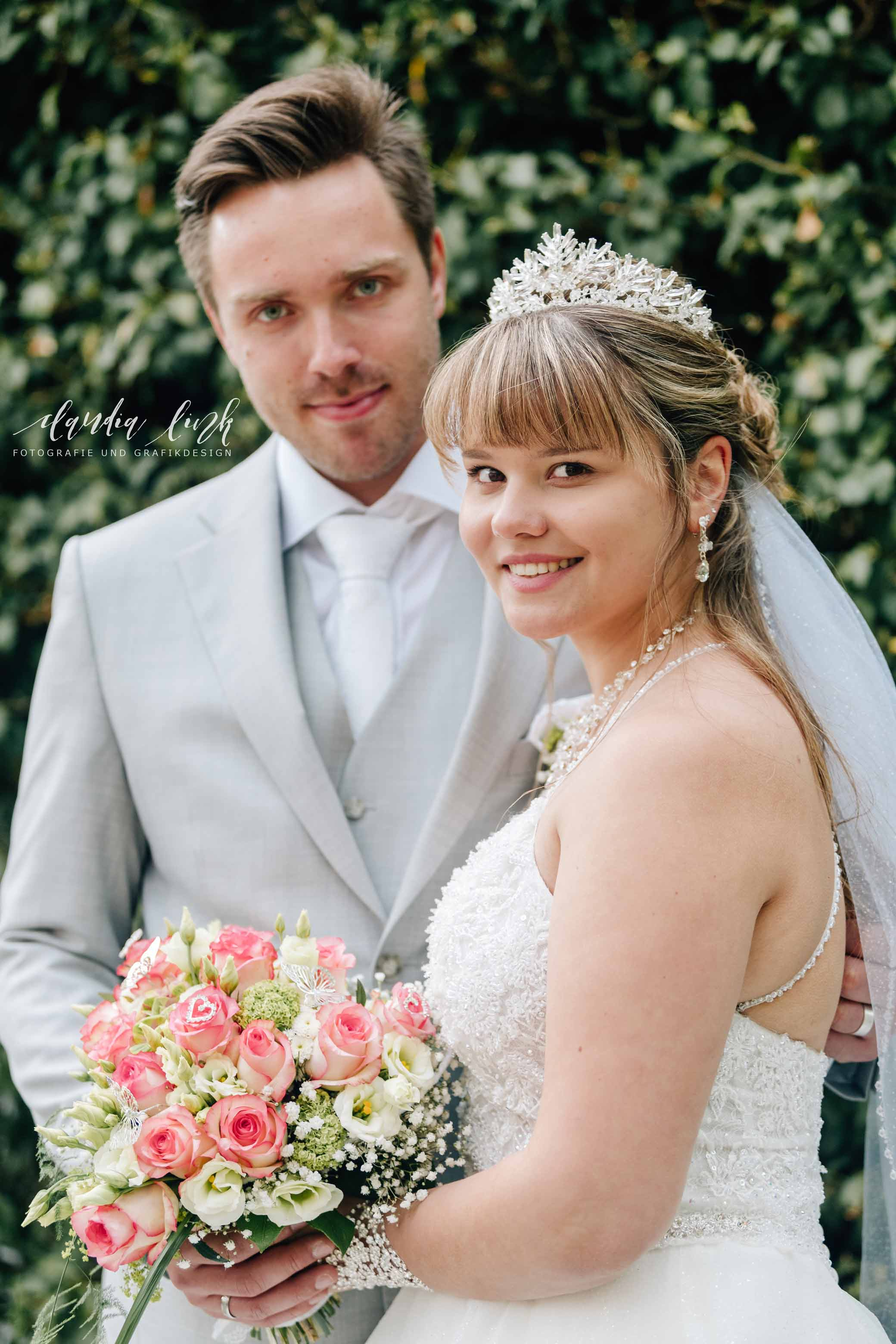 Kirchliche Hochzeit in Corona-Zeiten im fränkischen Burgkunstadt IMG 0725w
