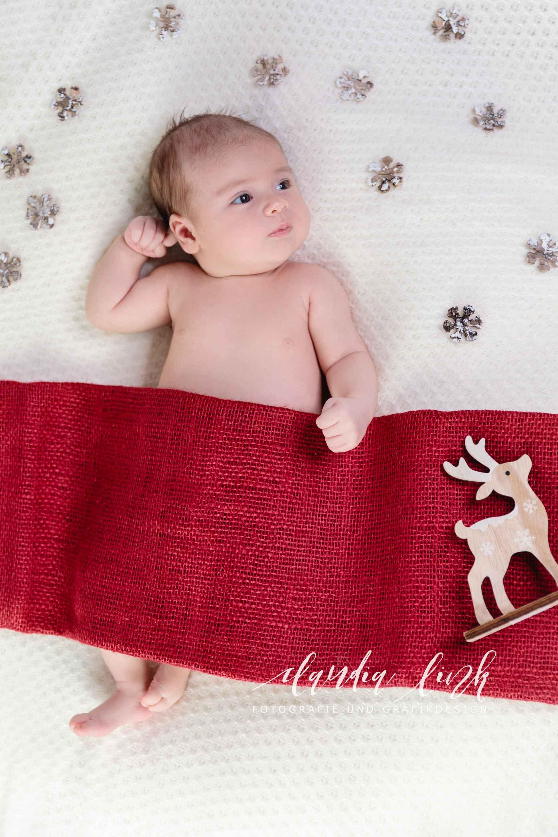 Kreative Babyfotos mit weihnachtlichen Accessoires IMG 5468web