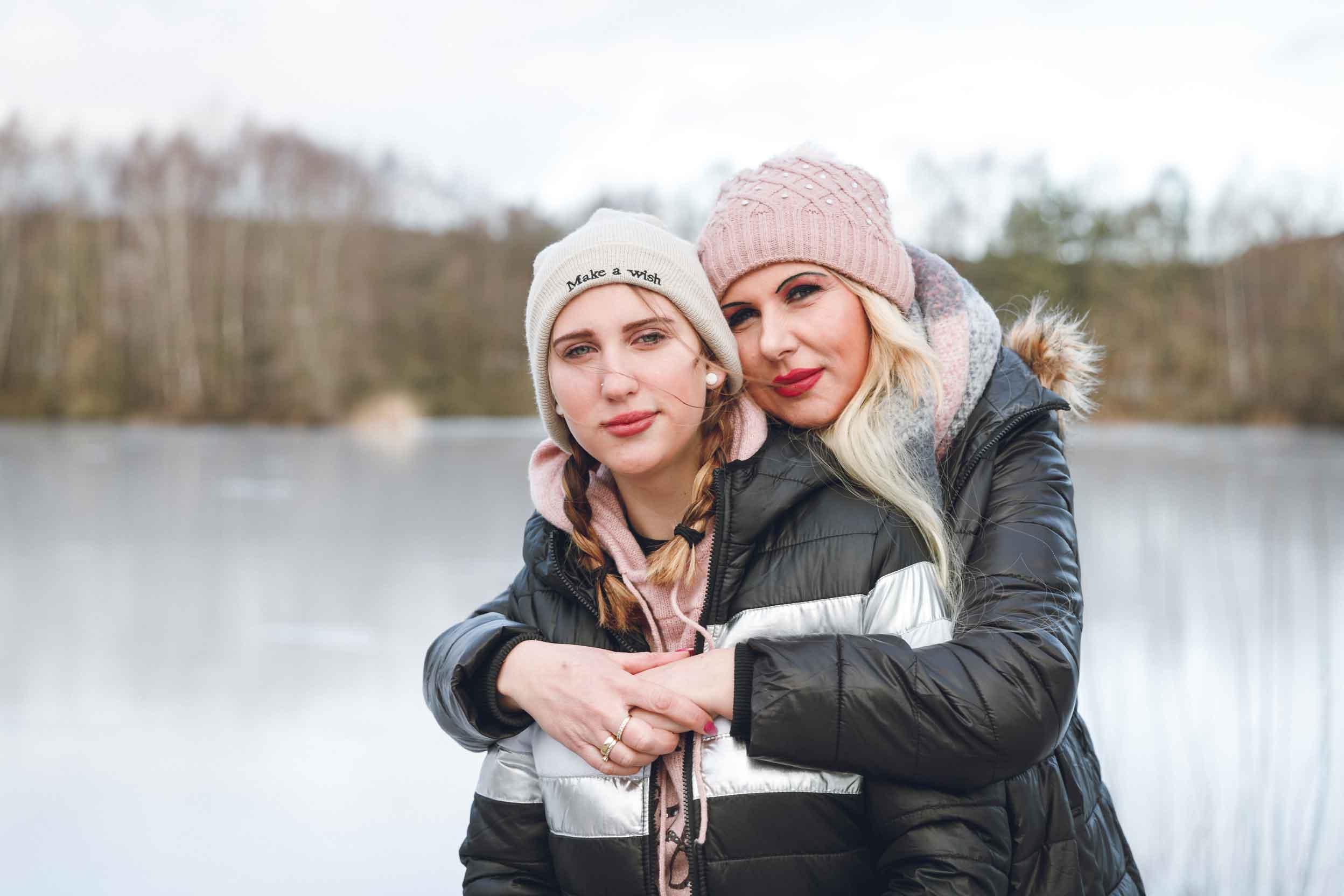 Mutter und Tochter – Portraits am Rothsee zum Muttertag IMG 7371w