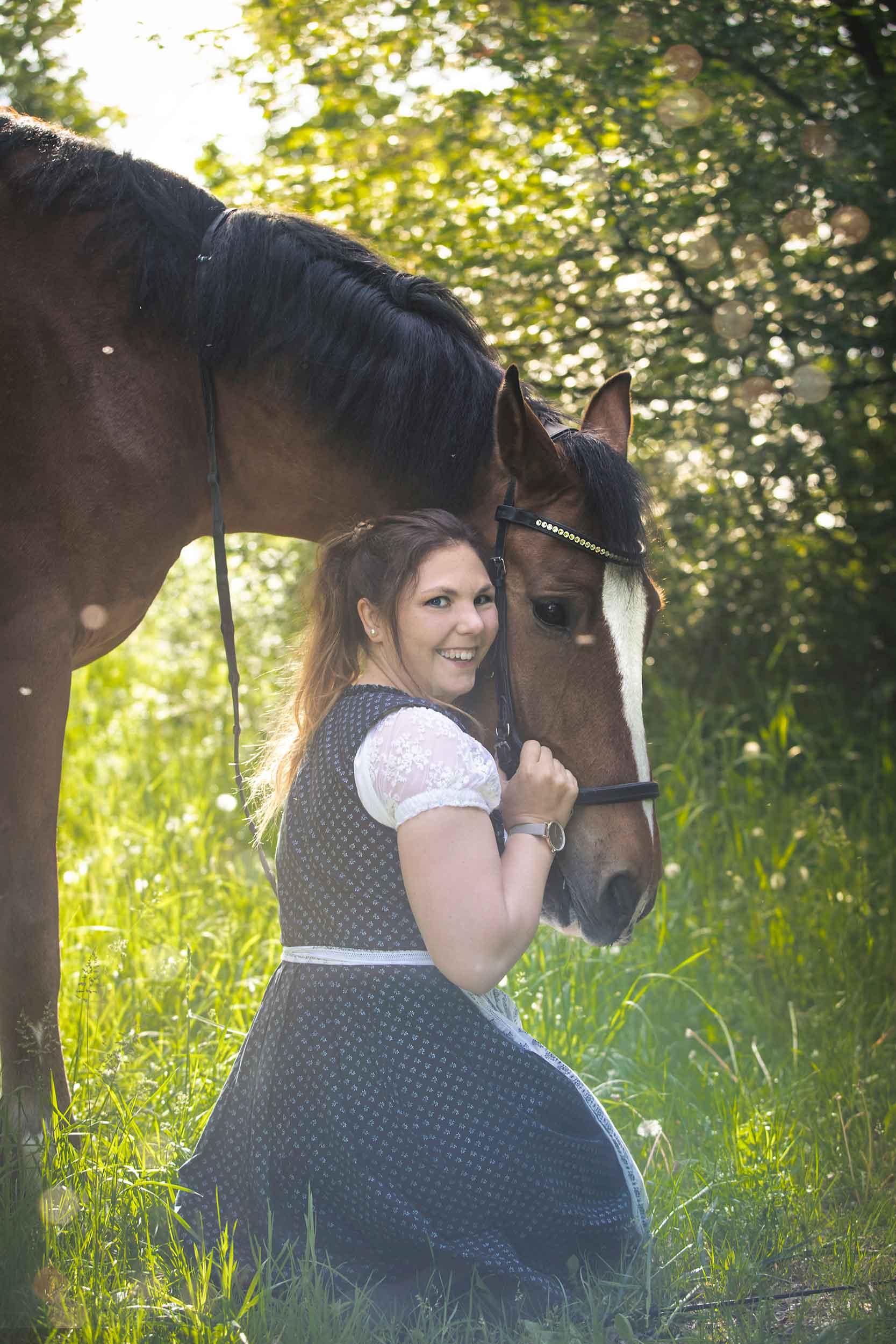Pferdeshooting im Wald und auf der Heide IMG 0943w