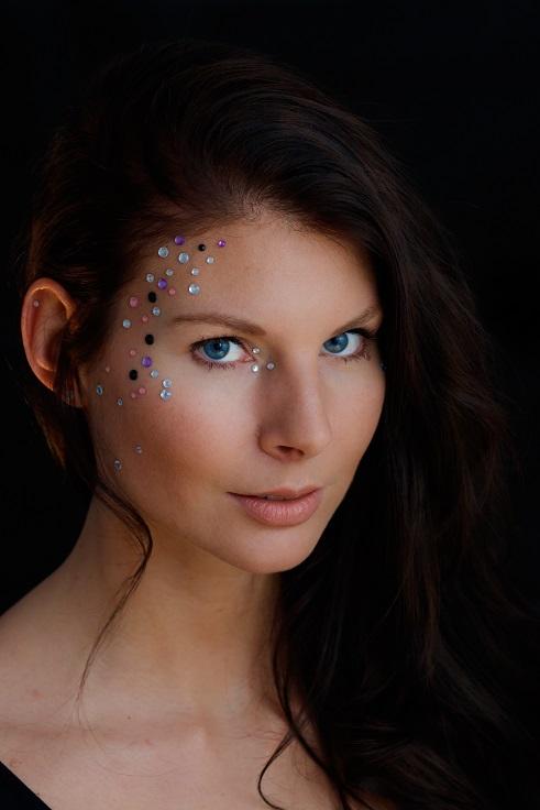 Portraits mit Glitzer und Strass IMG 6902w